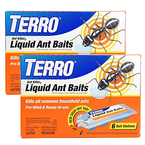 TERRO T300B Liquid Ant Bait Ant Killer, 12 count