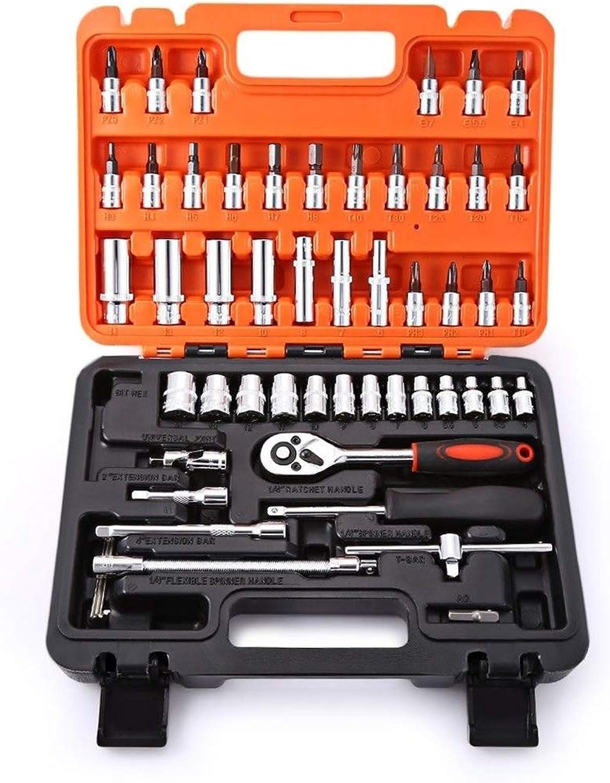53-Piece-Automotive-Tool-Set-Mechaniken-Box-Case-Car-Motorzycle-Home-Repair-Kit,53Piece B07MNDRHX7 | Vorzügliche Verarbeitung  Verarbeitung  Verarbeitung  027510