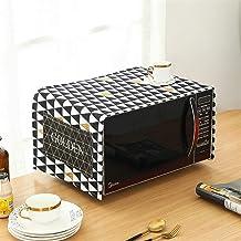 HHYK Algodón de Lino Inicio Cocina Microondas Microondas Cubierta a Prueba de Aceite Horno Cubierta de Polvo Accesorios de Cocina Suministros (Color : C)