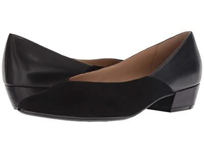 Naturalizer Betty (Black Suede/Leather) Women