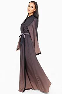 Nukhbaa Brown Casual Abaya For Women