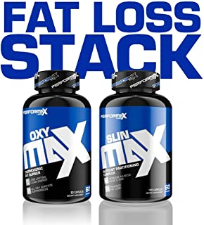 Performax Labs Fat Loss Stack - 1 Oxy Max & 1 SLIN Max