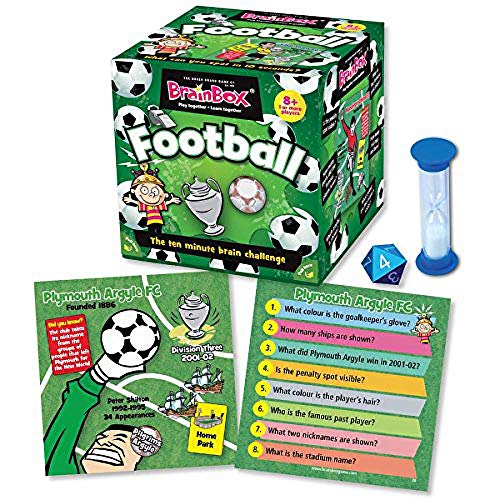 BrainBox - Football - Card Game
