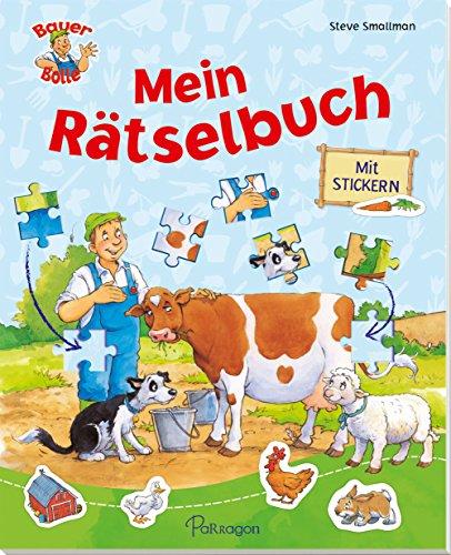 Bauer Bolle - Mein Rätselbuch: Mit Stickern