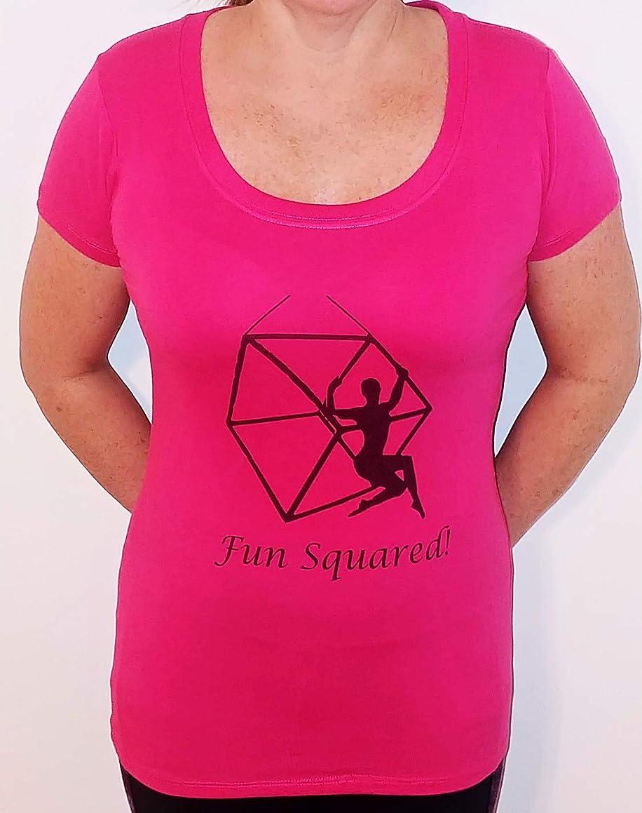 Aerial cube t-shirt Fun Squared!