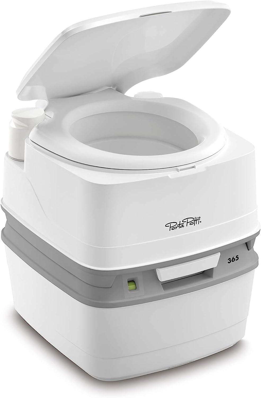 Thetford 92820 Potti Potti 365 Toilette Portable, Blanc-Gris, 414 x 383 x 427 mm