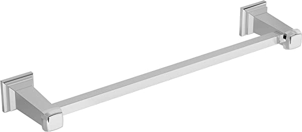 Symmons 423TB 24 Oxford 24 In Wall Mounted Towel Bar In Polished Chrome