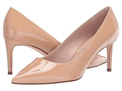 Stuart Weitzman Leigh 70mm Pump (Adobe Patent) Women
