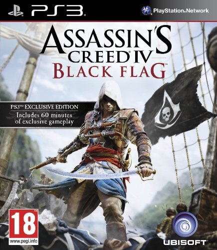 [UK-Import]Assassins Creed IV 4 Black Flag Game PS3