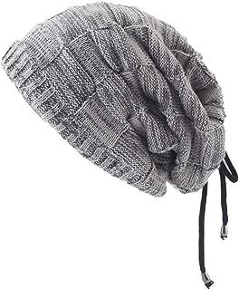 Smdoxi Unisex Winter Scarf Cap Headgear bib Suit Plus Velvet Thick Wool hat Autumn and Winter Knit hat