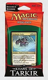 Magic: the Gathering: Khans of Tarkir - Intro Pack / Theme Deck: Avalanche Tusker (Alternate Art Premium Rare Promo)