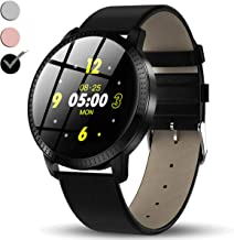 Fitness Tracker Watch, IPS Color Screen Smart Watch for Men Women with Heart Rate Blood Pressure Monitor Calories Sleep Step Counter Run/Swim Sport Activity Bracelet Summer Gifts for Men Women Kids