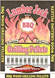 Lumber Jack LJACK40-Apple-Blend Smoking BBQ Grilling Wood Smoker Pellets – Full of Flavor, 40Lbs