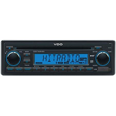 Vdo Cdd718ub Bu Cd Mp3 Autoradio Mit Bluetooth Dab Elektronik