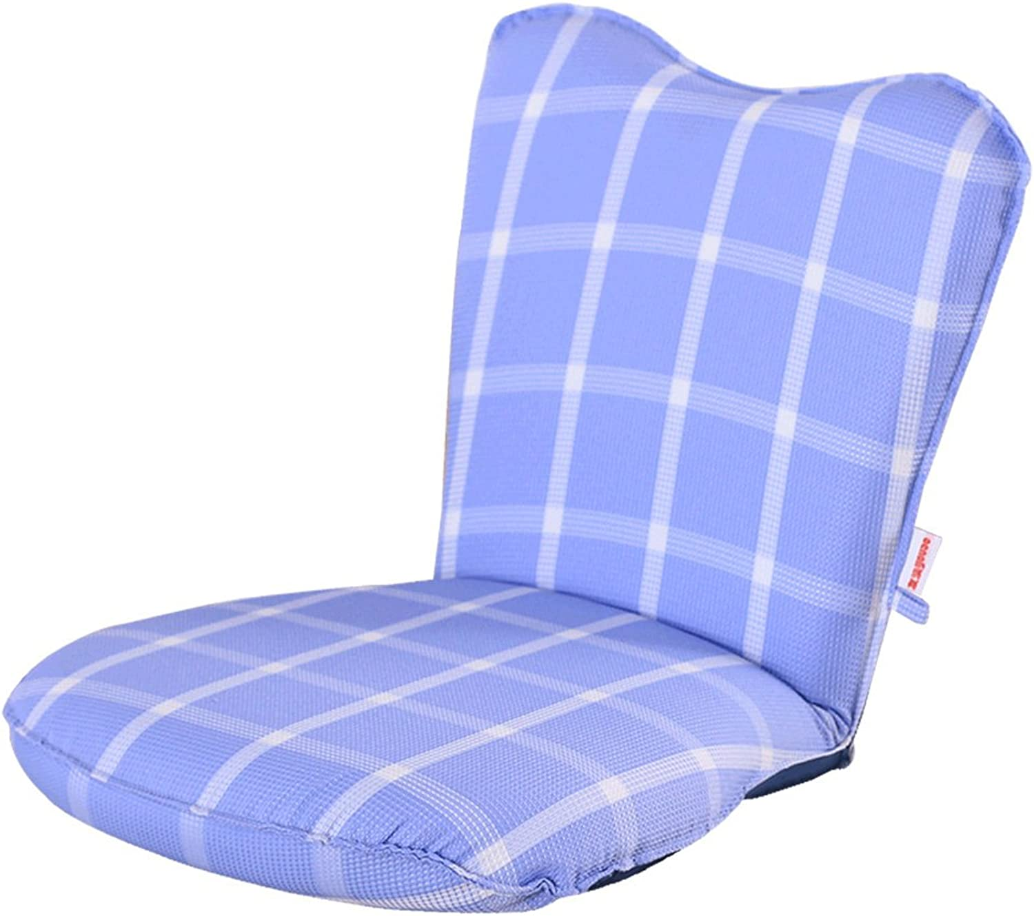XRXY Creative Mini Foldable Small Sofa Bed Bay Window Practical Folding Chair Adjustable Computer Backrest Chair Individual Removable Floor Chair