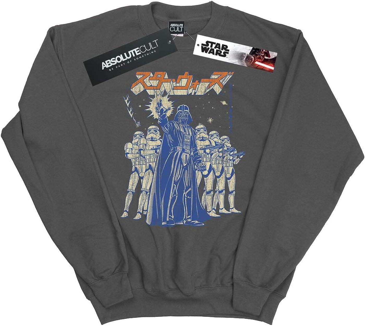Star Wars Girls Kanji Force Choke Sweatshirt