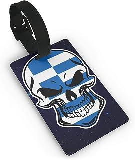 82e2bf7186ba Amazon.com: Greece luggage travel tags: Clothing, Shoes & Jewelry