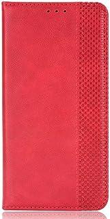 غطاء FTRONGRT متوافق مع حافظة فودافون سمارت E11، غطاء قلاب مع فتحة بطاقة، قوس، محفظة، محفظة جلد PU مغناطيسي لـ Vodafone Sm...