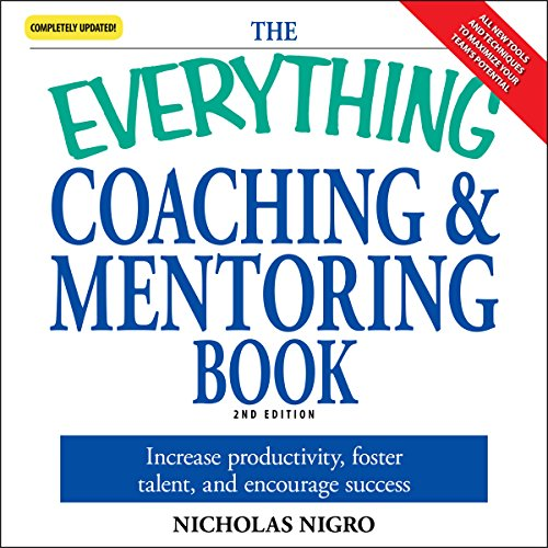 The Everything Coaching and Mentoring Book audiobook cover art