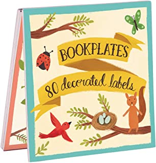 Forest Friends Bookplate Book of Labels