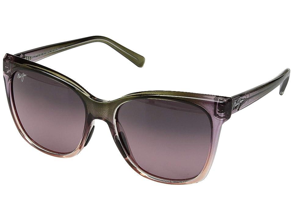 Maui Jim Alekona (Mossy/Blush/Pink/Maui Rose) Athletic Performance Sport Sunglasses