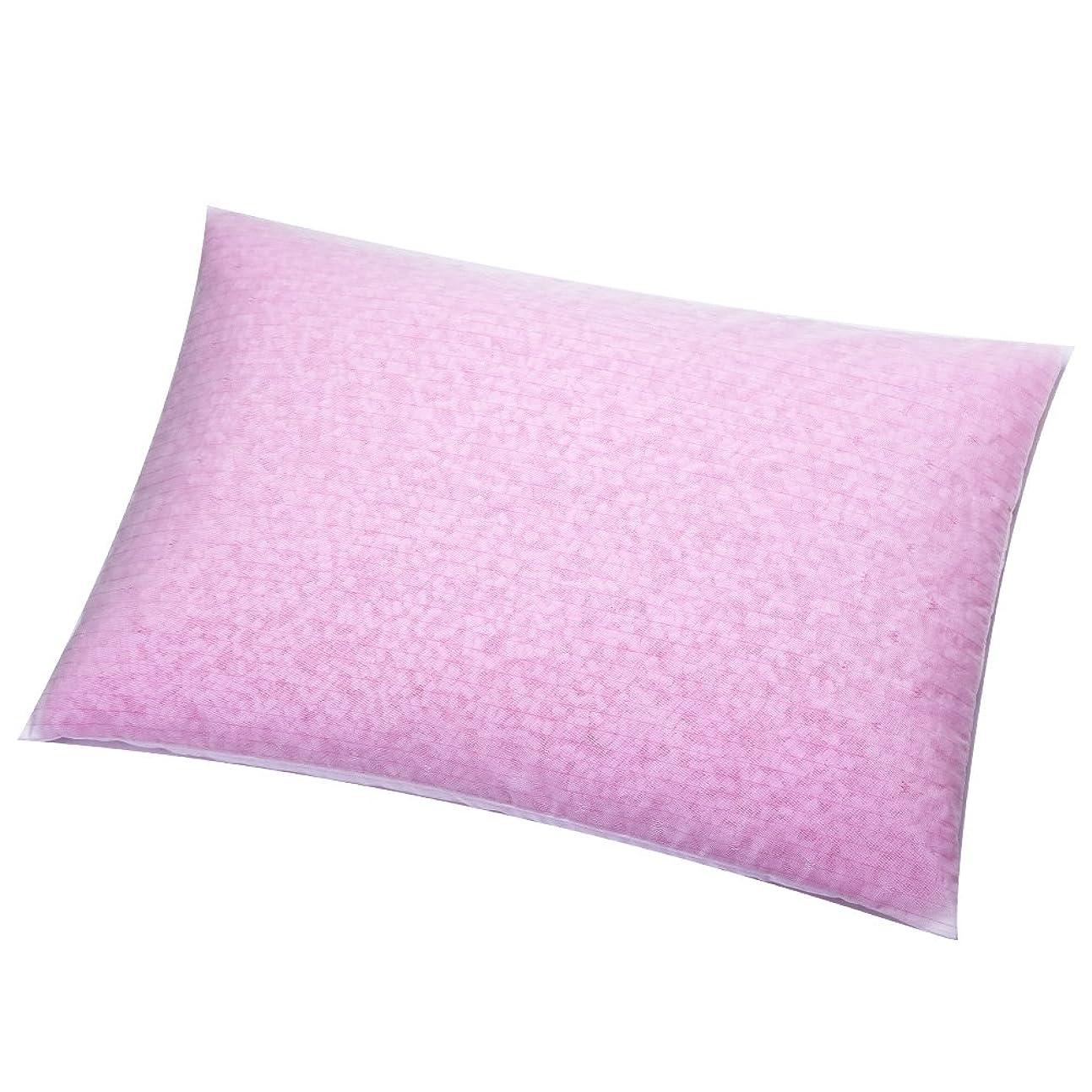 なんでもサイクル誓い昔ながらのパイプ枕 まくら マクラ 日本製 (小サイズ 35×50cm, ピンク)