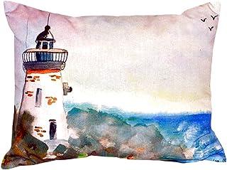 "Betsy Drake NC052 Light House No Cord Pillow,,16"" X20"""
