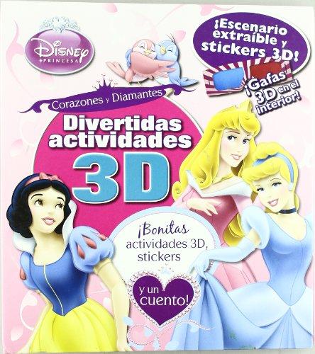 Divertidas actividades 3d - princesas (+gafas 3d)