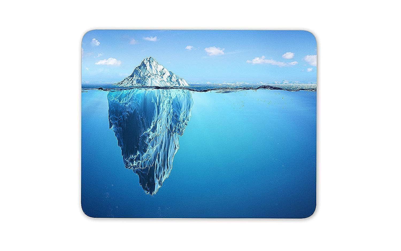 素晴らしい氷山マウスマットパッド - アイスバーグウォーター海のダイビングギフトPCコンピュータ#8357
