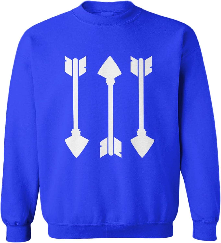 Three Arrows Kansas City Mall - Hunting Bow Great interest Sweater Fleece Crewneck Toddler