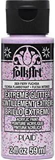 FolkArt Extreme Glitter Acrylic Paint in Assorted Colors (2 Ounce), 2812, Rose Gold 2 oz 2829