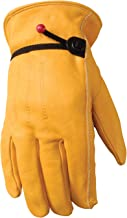 Best yellow leather work gloves Reviews