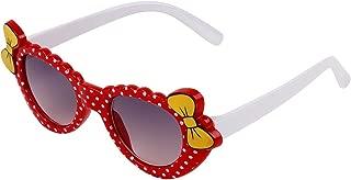 Zyaden Kids Red Cat-Eye Sunglasses 13 (Age 4+)