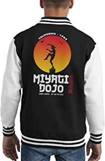 Cloud City 7 Miyagi Dojo California 1984 Karate Kid Kid's Varsity Jacket