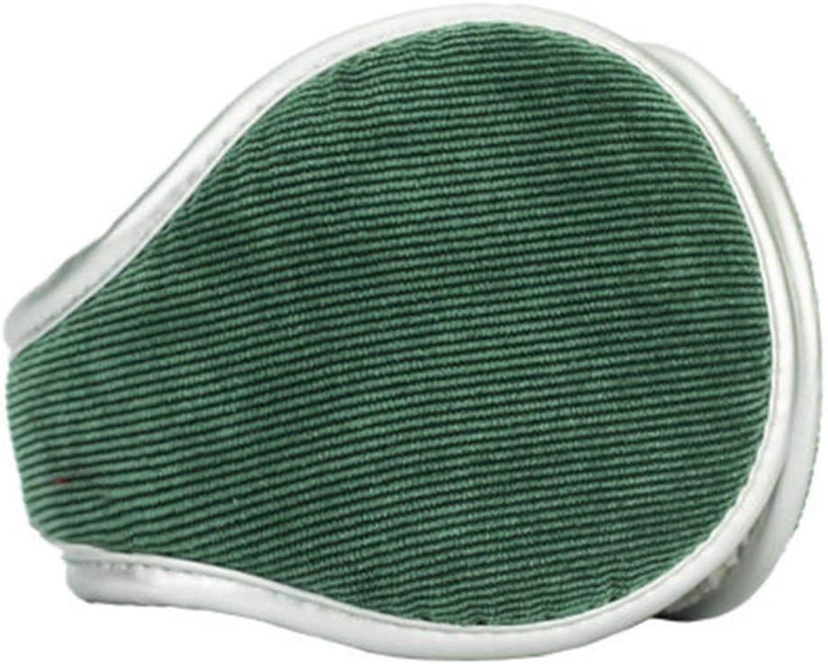 ZYXLN-Earmuffs,Men and Women Children Warm Earmuffs Multi-Angle Foldable Carrying More Convenient Earmuffs Winter Outdoor Earmuffs (Color : Green)