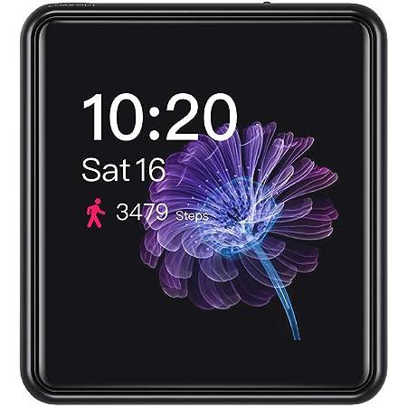 FiiO M5 AK4377 32bit /384kHz DAC chip Mini Touch Screen HiFi MP3 Music Player with Bluetooth aptX HD/LDAC, USB Audio/DAC,Supports Calls and Sound Recordings(Black)