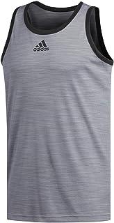 Adidas Heathered Playera sin Mangas para Hombre