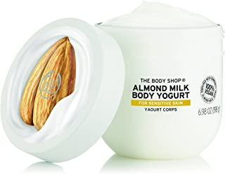 The Body Shop Almond Milk Body Yogurt, 48hr Moisturizer, for Sensitive and Dry Skin, 100% Vegan,6.98 Fl.Oz