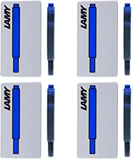 Lamy Fountain Pen Ink Cartridges, Blue Ink, Pack of 20 (LT10BLB)