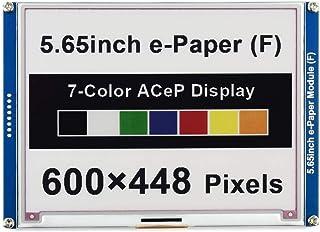 5.65 インチ SPI通信 7色 ACeP 600X448 カラー 電子ペーパー モジュール E-ink E-paper Epaper ディスプレイ 画面 キット for Raspberry Pi ラズベリーパイ 3 4 Jetson Nan...
