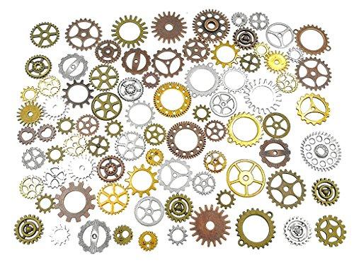 large steampunk gears