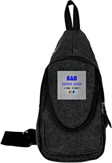 Link Start Nerve Gear Sword Art Online Traveling Chest Bags For Men&Women Multipurpose Casual Daypack Hiking Shoulder Bag