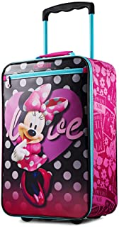 ディズニー ミニーマウス キャリーバッグ ソフト スーツケース キッズ American Tourister (アメリカンツーリスター) [並行輸入品]