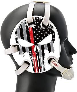 Geyi American Flag Thin Red Line Wrestling Headgear 1