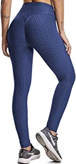 KIWI RATA Women's High Waist Yoga Pants Tummy Control Slimming Booty Leggings Workout Running Butt Lift Tights