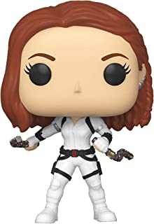 Funko 46681 Black Widow Black Widow White Pop Vinyl Figure, Multicolour