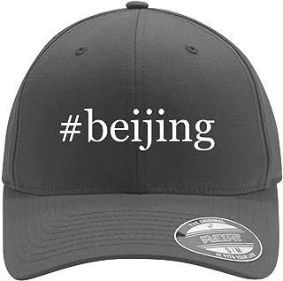 #beijing - Adult Men's Hashtag Flexfit Baseball Hat Cap