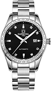 TEINTOP Carnival Womens Automatic Mechanical Watch with Stainless Steel Band