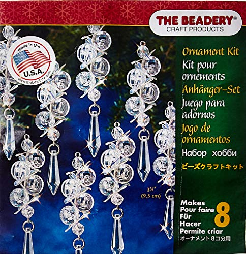 THE BEADERY Beaded Ornament KIT IRR BUBBLS, Multicolor, One Size