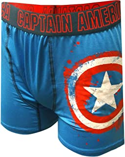 cd40c0be5d Marvel Comics Captain America Storm Shield Boxer Brief for Men